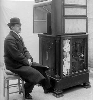 historický foto automat